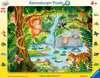 Džungle 24 dílků 2D Puzzle;Dětské puzzle - Ravensburger