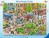 Unterwegs in der Stadt Puzzle;Kinderpuzzle - Ravensburger