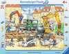 Fleißige Bauarbeiter Puzzle;Kinderpuzzle - Ravensburger