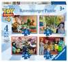 Toy Story 4, 4 in a Box Puzzles;Children s Puzzles - Ravensburger