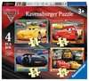 Disney Pixar Cars 3, 4 in Box Puzzles;Children s Puzzles - Ravensburger