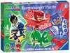 PJ Masks Four Shaped Puzzles Puzzles;Children s Puzzles - Ravensburger