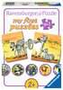 Schattige dierenfamilies Puzzels;Puzzels voor kinderen - Ravensburger