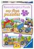 My favourite construction vehicles Puslespil;Puslespil for børn - Ravensburger