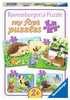 Süße Gartenbewohner Baby und Kleinkind;Puzzles - Ravensburger