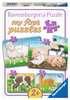 Lovable Farm Animals Puslespil;Puslespil for børn - Ravensburger