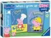 Peppa Pig My First Puzzles, 6x2pc Puzzles;Children s Puzzles - Ravensburger