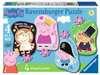 Peppa Pig Four Shaped Puzzles Puzzles;Children s Puzzles - Ravensburger