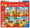 Jokie reist om de wereld Puzzels;Puzzels voor kinderen - Ravensburger