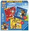 Tlapková Patrola: Rubble, Marshall a Chase 3 v 1 2D Puzzle;Dětské puzzle - Ravensburger