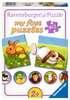 Lieve dieren / Animaux sympathiques Puzzle;Puzzles enfants - Ravensburger