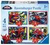 Disney Spider Man 4 v 1 2D Puzzle;Dětské puzzle - Ravensburger