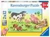 Glückliche Tierfamilien Puzzle;Kinderpuzzle - Ravensburger