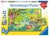 Tiere in unserem Garten Puzzle;Kinderpuzzle - Ravensburger