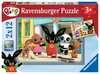 Bings Adventures 2x12 pc Puslespil;Puslespil for børn - Ravensburger
