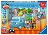 Abenteuer mit den Helden der Stadt Puzzle;Kinderpuzzle - Ravensburger
