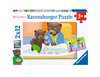 Puzzles 2x12 p - La famille de Petit Ours Brun Puzzle;Puzzle enfant - Ravensburger