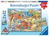 Achtung, Straßenbaustelle! Puzzle;Kinderpuzzle - Ravensburger