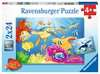 Vibrance Under the Sea 2x24p Puslespil;Puslespil for børn - Ravensburger