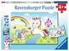 Märchenhaftes Einhorn     2x24p Puslespil;Puslespil for børn - Ravensburger