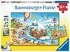 Urlaub am Meer Puzzle;Kinderpuzzle - Ravensburger