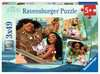 Vaiana s voyage of discovery 3x49 pc Puslespil;Puslespil for børn - Ravensburger
