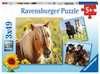 Loving Horses 3x49p Puslespil;Puslespil for børn - Ravensburger