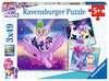 Puzzle 3x49 p - Aventures avec les poneys / My Little Pony Puzzle;Puzzles enfants - Ravensburger