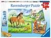 Cuddle Time               3x49p Puslespil;Puslespil for børn - Ravensburger