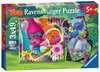 Trolové 3x49 dílků 2D Puzzle;Dětské puzzle - Ravensburger