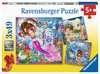 Mořské víly 3x49 dílků 2D Puzzle;Dětské puzzle - Ravensburger