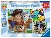 Disney Toy Story 4, 3x49 dílků 2D Puzzle;Dětské puzzle - Ravensburger