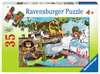 Day at the Zoo Jigsaw Puzzles;Children s Puzzles - Ravensburger