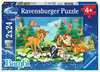 DI MÓJ PRZYJACIEL BAMBI 2X24PC Puzzle;Puzzle dla dzieci - Ravensburger