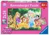 Beste Freunde der Prinzessinnen Puzzle;Kinderpuzzle - Ravensburger