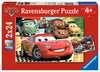 DI: CARSY- NOWA PRZYGODA 2X24P Puzzle;Puzzle dla dzieci - Ravensburger