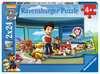 Tlapková Patrola: Dobrý skutek 2x24 dílků 2D Puzzle;Dětské puzzle - Ravensburger