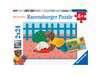 Puzzles 2x24 p - Petit Ours Brun à la maison Puzzle;Puzzle enfant - Ravensburger