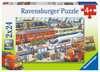 Trubel am Bahnhof Puzzle;Kinderpuzzle - Ravensburger