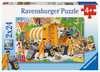 Bei der Müllabfuhr Puzzle;Kinderpuzzle - Ravensburger