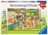 A Day at the Farm Puslespil;Puslespil for børn - Ravensburger