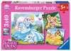 Palace Pets -  Belle, Cinderella und Rapunzel Puslespil;Puslespil for børn - Ravensburger