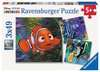 Puzzle 3x49 p - Dans l aquarium / Némo Puzzles;Puzzles pour enfants - Ravensburger