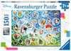 Puzzle 150 p XXL - Bulles de savon amusantes / Disney Puzzle;Puzzle enfant - Ravensburger