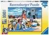 Vstup na pláž psům zakázán 100 dílků 2D Puzzle;Dětské puzzle - Ravensburger