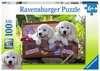 Traveling Pups 100pc Puslespil;Puslespil for børn - Ravensburger