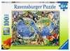 Tierisch um die Welt Puzzle;Kinderpuzzle - Ravensburger