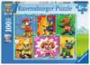 Tlapková Patrola 100 dílků 2D Puzzle;Dětské puzzle - Ravensburger