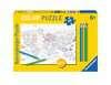Color puzzle 80 p - Atlas / OMY Puzzle;Puzzle enfant - Ravensburger
