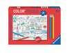 Color puzzle 80 p - En ville / OMY Puzzle;Puzzle enfant - Ravensburger